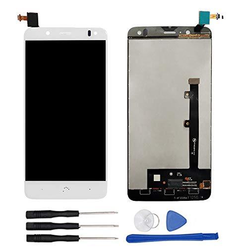 soliocial Completa Pantalla LCD + Táctil Digitalizador Reemplazo para Bq Aquaris V/ U2/ U2 Lite White