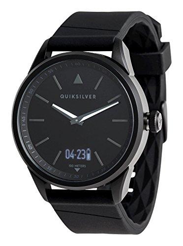 Quiksilver - Reloj Analógico-Digital - Hombre - One Size - Negro