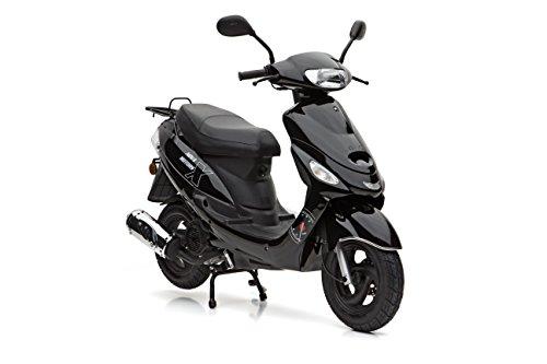 Motorroller Nova Motors City Star Touring 125 schwarz