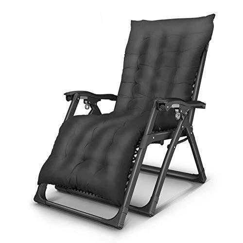 President Balancelle - Salón de jardín con asiento acolchado grueso grueso y mullido, múltiples posiciones