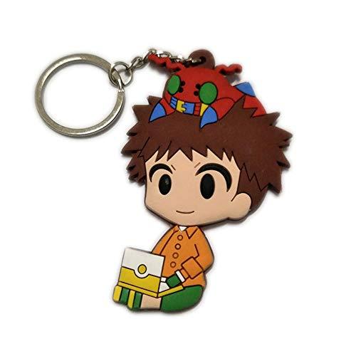 DOFE Digimon Keychain,PVC keychain,Cartoon Keychain,For Boys.3.5'. (Izumi Koushiro)