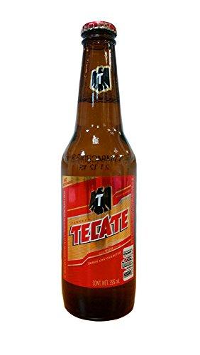 Cerveza TECATE, Helles Bier aus Mexiko, 4,5% vol