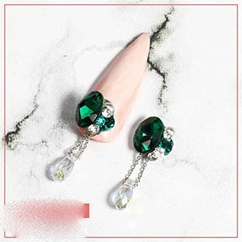 Super Flash Accesorios de uñas de diamantes de imitación Suministros de decoración de bricolaje Joyas de uñas de diamantes de perlas universales ligeras-China, G2021192-03