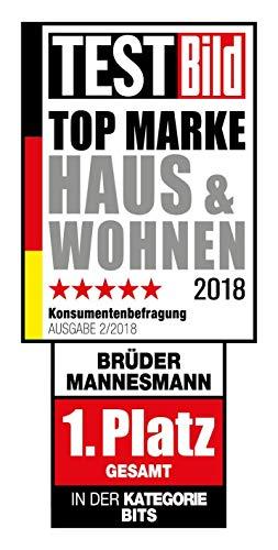Mannesmann - M29085 - Juego de herramienta universal en maletín abatible