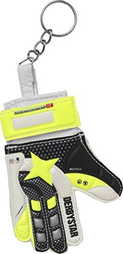 Derbystar Torwarthandschuh Mini, weiß gelb schwarz, 4209000000