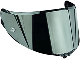 AGV Pista/Corsa Scratch Resistant Shield with Tear Off Posts (Iridium Silver)