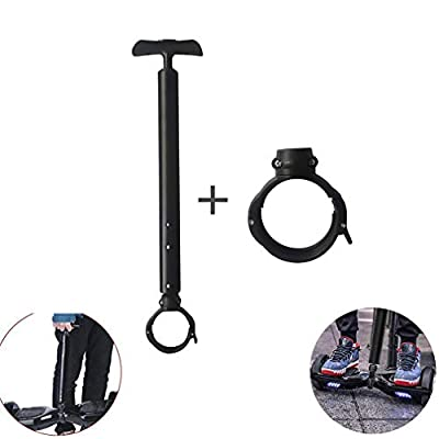 YTYC Balancing Scooter Handle Control Strut Stent,Stretchable Aluminum Alloy Balance Scooter Handle Bar, Beginners Electric Hoverboard Holder for 6.5 7 10 Electric Self Balancing Scooter