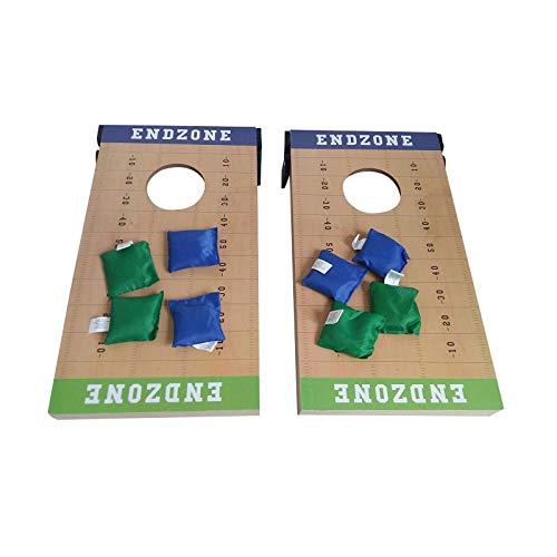DYSD Juego de 8 bolsas de puf de repuesto azul y verde...
