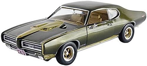 Autoworld Auto World amm1042 Pontiac GTO Royal Bobcat 1969 Ma ab 1 18 DunkelGrün