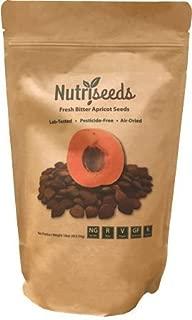 Fresh Bitter Raw Apricot Seeds | 100% Natural | 1LB Bag