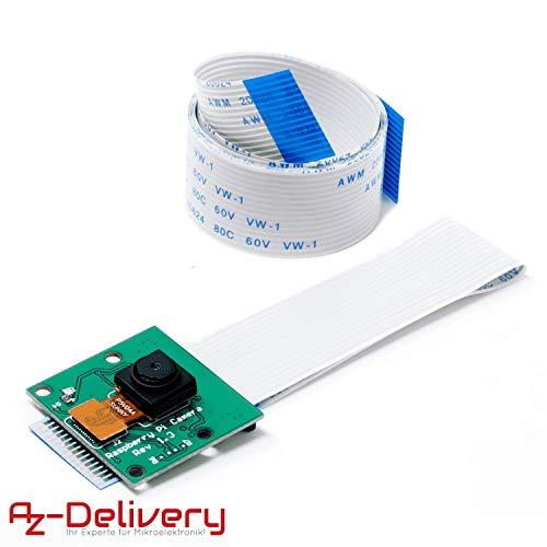 AZDelivery Kamera mit 15cm Flexkabel und 100cm Flexkabel für Raspberry Pi inklusive E-Book!