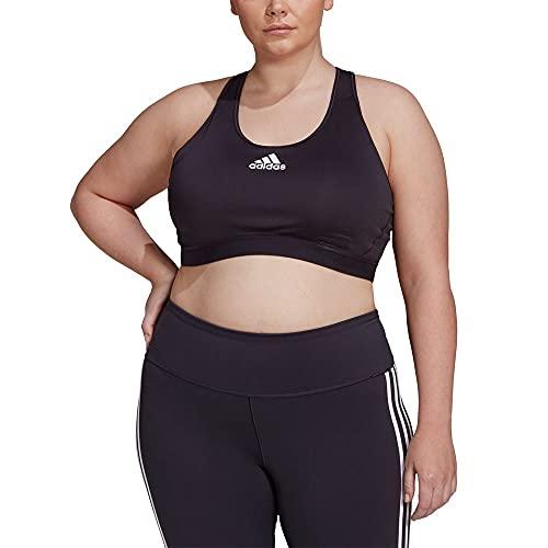 adidas Womens DRST P Bra PS Sports, Black, 5X-Large