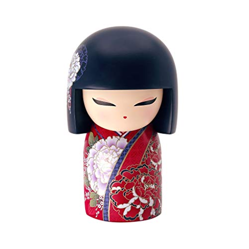 Kimmidoll Kokeshi 10 cm Miwa Harmony Englische Version