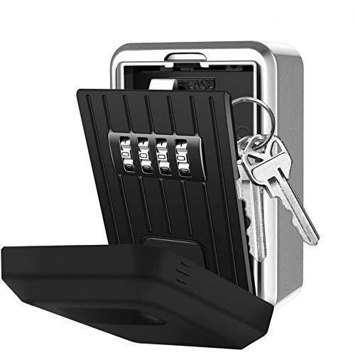 Key Lock Box with 4-Digit Combination
