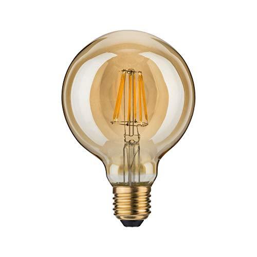 Paulmann 283.86 LED Globe Ø95mm 7,5W E27 230V Gold Warmweiß 28386 Leuchtmittel Lampe