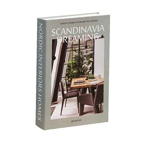 Decorativo Libro nórdica Falso Moderna Simulación Blanco de la Manera de Interior Prop Estante de exhibición