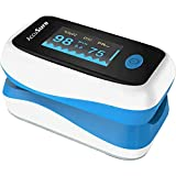 AccuSure AS09 Pulse Oximeter for measuring Blood Oxygen Saturation (SpO2) and Pulse Rate Monitor