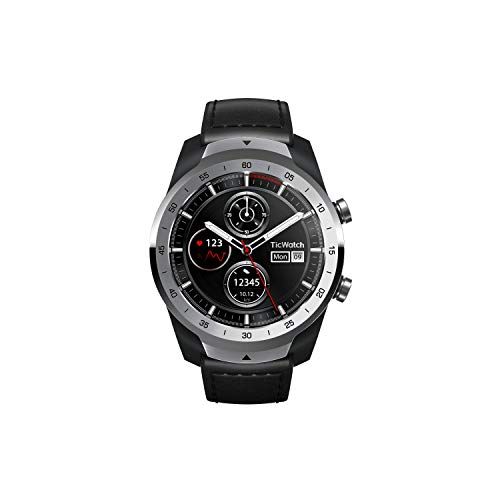 Ticwatch PRO - Smartwatch Liquid Silver