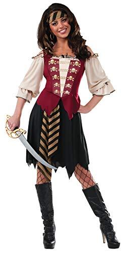 Rubies 's–Disfraz de Mujer Elegante Disfraz de Pirata Adulto