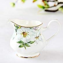 BJDST Bone China Milk Pitcher Fasion Household Ceramic Coffee Pot Fashion Coffee Ware Service Cup