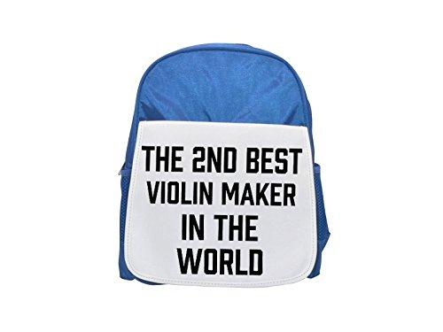 La 2nd mejor violín eléctrica en el mundo impreso Kid 's azul...