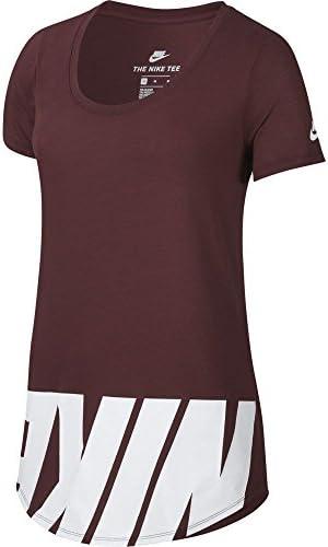 Nike Camiseta Sportwear Advance Color Rojo para Mujer