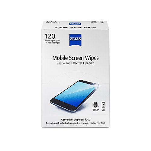 ZEISS Mobile screen wipes 120ct Box