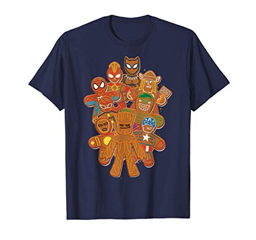 Marvel Avengers Gingerbread Cookies Christmas T-Shirt