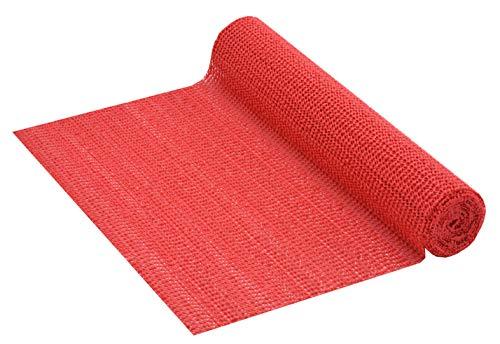 Venilia Anti-Rutsch Unterlage Venigrip Rot Schubladenmatte, Kofferraummatte, Antirutsch Universalmatte, 30 x 150 cm, 54166