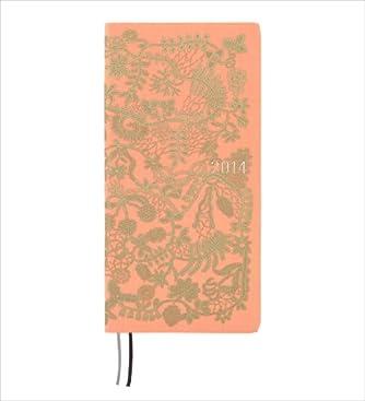 ほぼ日手帳 WEEKS 2014 ひびのこづえピンク