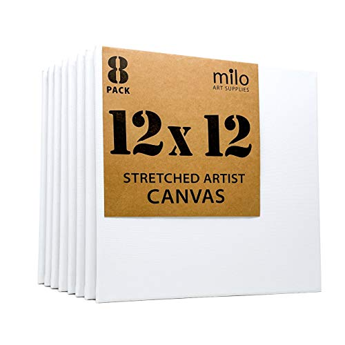 """16/"""" X 20/"""" Stretched 100/% Cotton Canvas 5 pack Art Supply Paint Acrylic Oil-5 pk"""