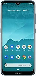 "NOKIA 6.2 Android Smartphone, 4GB RAM, 64GB Memory, 6.3"" FHD+ PureDisplay, Triple Camera - Ice"