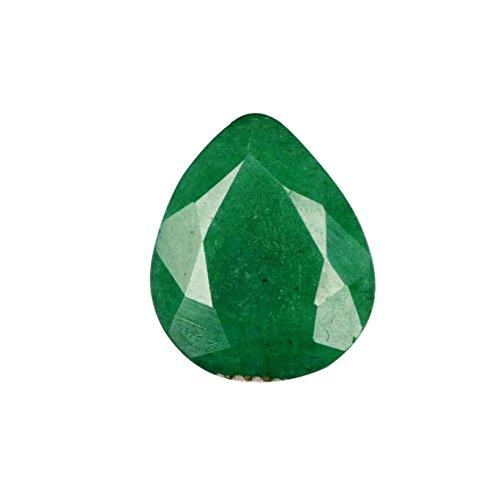 Gemhub 3.70 CT. Piedra Preciosa Suelta certificada Emal Esmeralda Verde Natural - para el Colgante/el Anillo/el Collar AO-249