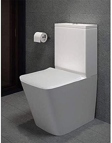 Amazon.es: Inodoros - Fontanería de baño: Bricolaje y herramientas: Inodoros de una pieza y mucho más