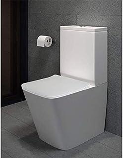 Pack WC de Inodoro Square compacto adosado a la pared con