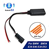 Car Bluetooth Module AUX-IN Audio Cable Adapter for BMW E39 E46 E38 E53 16:9 Navigation AUX-In Bluetooth Wire Adapter