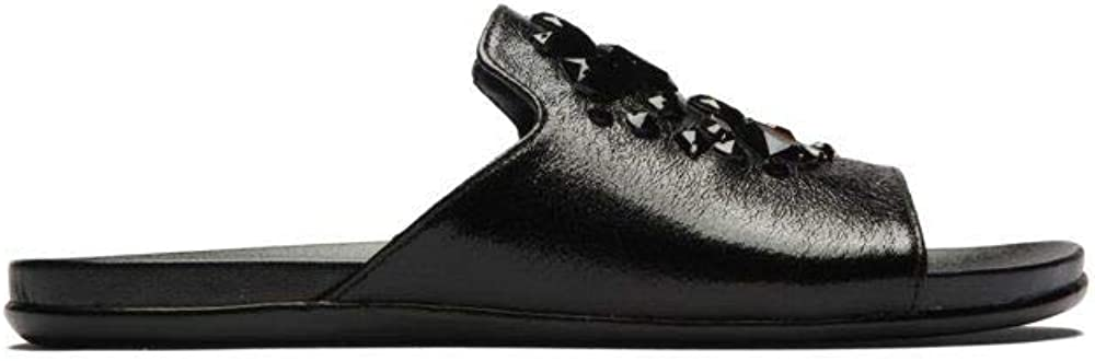 Kenneth Cole REACTION Women's New Free Shipping Slim Flat Sparkle Slide Sandal wit 1 year warranty