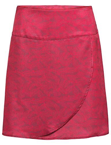 VAUDE Lozana II Falda de Vestir para Mujer, Mujer, Color Passion Fruit, tamaño Talla 44