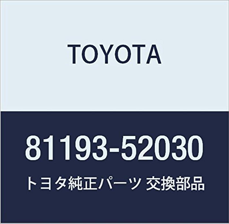 Toyota 81193-52030 Headlamp Protector
