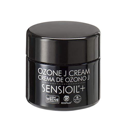 OZOLABS | CREMA DE OZONO J | Crema facial con los beneficios de los aceites orgánicos ozonizados | Anti-edad, regeneradora, reafirmante, nutritiva | Sello EcoPlus | ISO 9001 | 50 cc