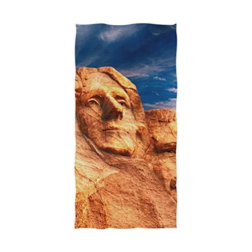 FAJRO Mount Rushmore Toalla de baño Multiusos
