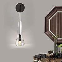 WY-YAN 13 * 66センチメートル全体の銅壁ランプ現代ミニマリストリビングルームの背景ベッドルームデンノルディックライトバスルームのアイデアクリスタルランプハイ味