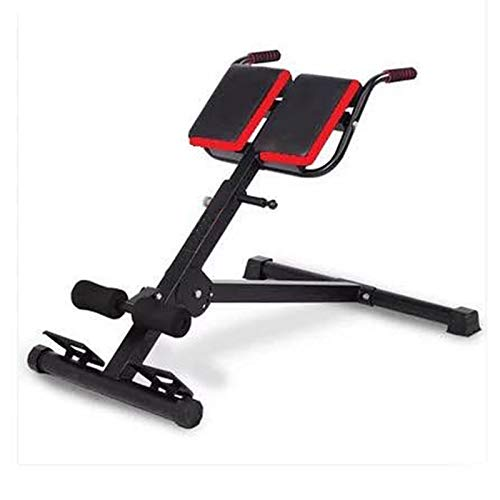 TOE Roman Chair Multifunctional Height-Adjustable Weightlifting Bed Sports Stretching Stool Strength Training Back Machines Max Weight 660Lbs