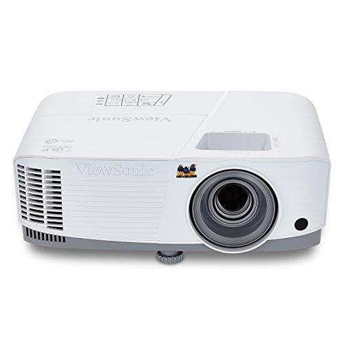 Viewsonic PG603X Business DLP Projektor (XGA, 3.600 ANSI Lumen, HDMI, USB, 10 Watt Lautsprecher, 1.1x optischer Zoom) Weiß-Grau