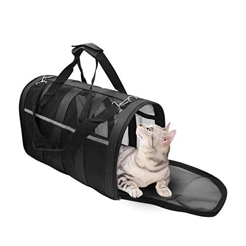 HXN Pet Carrier Backpack with Mesh Portable Design $19.99 (50% Off with code)