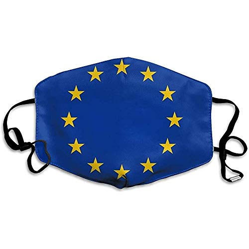 Maschera per la bocca Maschera per la bocca Copripiumino UE Unione Europea Maschera di moda Maschera fredda Maschera per la salute personale