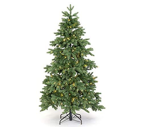 Evergreen Weihnachtsbaum Roswell Kiefer 180 cm künstlicher Tannenbaum inkl. LED-Beleuchtung Christbaum