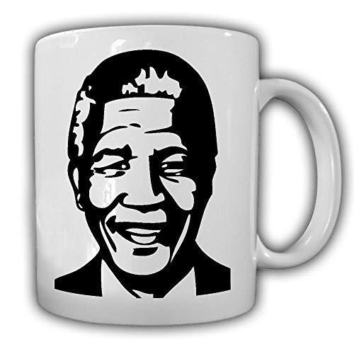 Nelson Mandela type 2 Zuid-Afrika kapiter Activist Kämpfer Koffie Cup #27614