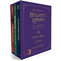 Hogwarts Library: The Illustrated Collection (Illustrated Edition) (Harry Potter)