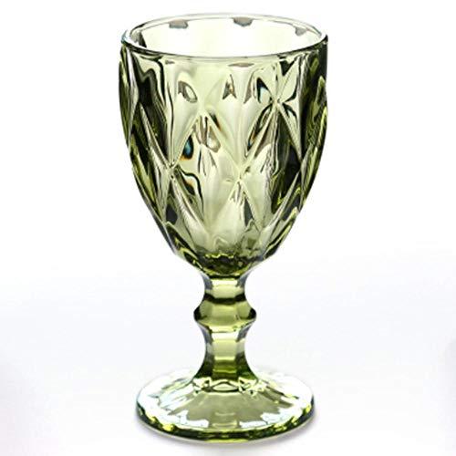 DIF Wijnglas Bekers Rode Wijn Cup 300ml Graveren Embossment Sap Drinkglazen Champagne Verschillende Goblets
